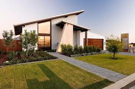 A stunning modern house design with stylish porch and skillion roof top  ideas also a large