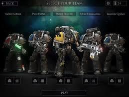 warhammer 40.000 kill team pour iPad gratuit jeux pc