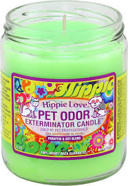Yankee Candle Country Kitchen Pet Odor Exterminator Hippie Love Deodorizing Candle 13 Oz Jar