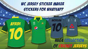 WC Jersey Sticker Maker - Stickers for ...