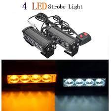 Amazon Com Car Lights Dc12v 2x4 Led Car Dashboard