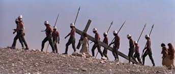 Image result for jesus carries cross