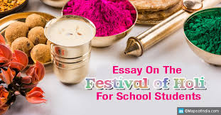 essay on holi for school children students and teachers my  essay on the festival of holi for school students