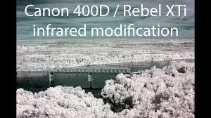 Canon Rebel XTi <b>Infrared</b> modification (Part 1) :: Canon 400D ...