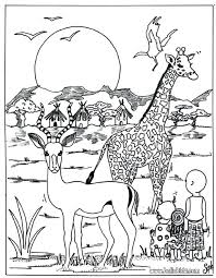 Downloadable Coloring Pages Animals Animals Coloring Pages Color