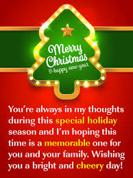 A wonderful christmas is wished for you. Merry Christmas Happy New Year Wishes Birthday Wishes And Messages By Davia