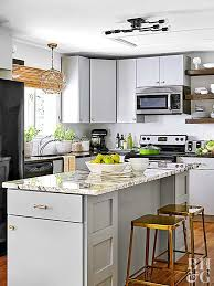 Make your kitchen an expression of your personal style by drenching it in  the colors you love. For a no-regrets approach, choose neutral tones for  the ...