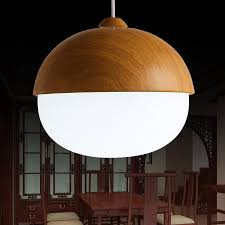 modern chandeliers with the white ring frosted glass lamp shades and wood material bar kitchen indoor light fixtures track lighting pendants pendant