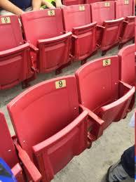 Seats Picture Of Raymond James Stadium Tampa Tripadvisor