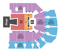 Cfe Arena Seating Chart Hillsong United Seating Chart Interactive Seating Chart