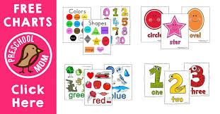 A color wheel is a chart or image meant to help people visualize how colors mix to create new colors. Free Printable Charts Preschool Mom