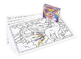 Amazoncom Crayola Uni Creatures Coloring Pages With Custom Crayon