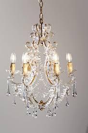 italian antique crystal vintage chandelier