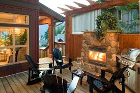 outdoor fireplace on deck outdoor fireplace gallery outdoor deck fireplaces gas