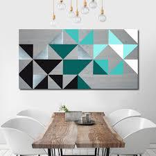 geometric wall art wood wall art