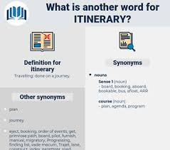 Another Word For Itinerary Is Synonyms For Itinerary Thesaurus Net