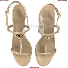 larger image tory burch beige brazil patent leather strappy