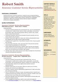 skills of customer service representative insurance customer service representative resume samples qwikresume