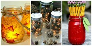 What To Put In Jars For Decorations ▷100 Ideas for Beautiful and Ingenious Mason Jar Crafts 49