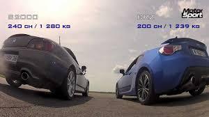 Drag race : Subaru BRZ VS Honda S2000 (Motorsport) - YouTube