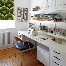 Retro home office Mid Century Modern Rilane 10 White Home Office Design Ideas Rilane