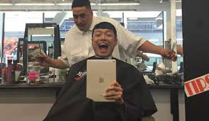 なんと無料ニュージーランドで今1番イケてる髪型にしてみた まつ