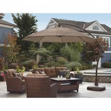 costco patio umbrella outdoor offset clear cantilever