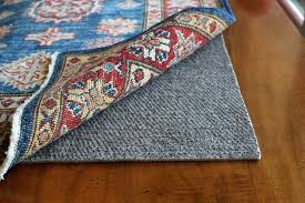 best area rug pads for wood floors carpet vinyl rubber and felt non slip padding skid