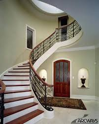 Alluring Round Stairs Design Curved Stairs Curved Staircase Circular  Staircase