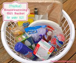Practical} Housewarming Gift Basket for Under $20! | Fun Home Things