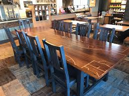 However, at this location they messed up my order on two separate occasions. Caribou Einstein Communal Tables Benches Wood From The Hood