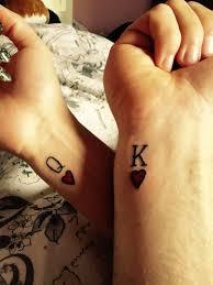 Couples Tattoo Wrist Tattoo King And Queen 100tattoo парные