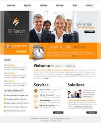 Business Website Templates Beauteous Best Website Template For Business Best Free Business Website