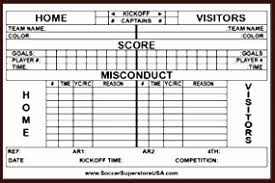Soccer Score Sheet Template Excel Amazon Rite In The Rain Soccer ...