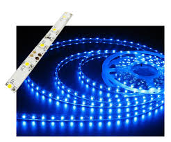 Led Lights Self Adhesive Self Adhesive Waterproof 2 Inch 3 Lights Led Light Strip Blue