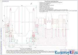 Курсовая работа по выбору скиповой установки для шахтного ствола  Чертеж Сборка главного вала подъёмной машины БЦК 8 5х2 Заархивированная курсовая