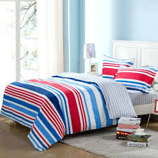 red white blue bedding red white blue baseball bedding twin or full plaid comforter set with