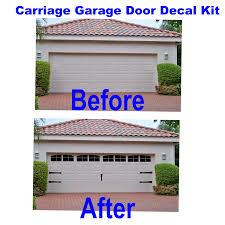 Faux Garage Door Windows Modren Faux Carriage Garage Doors Of Light In Our Need For Real