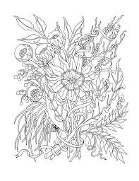 Small Picture 17 best Flower Coloring Pages images on Pinterest Mandalas
