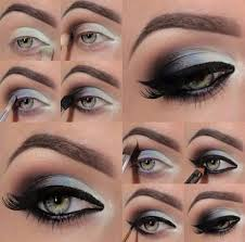 multi color smokey eyes easy makeup simple steps eyeliner latest stan fashion trend trending style beautiful eye makeup shades attractive 1