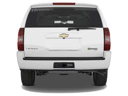Image: 2012 Chevrolet Tahoe Hybrid 2WD 4-door Rear Exterior View ...
