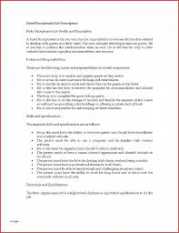 hospital front desk job description luxury hotel receptionist resume gseokbinder