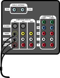 composite input tv. Fine Input And Composite Input Tv