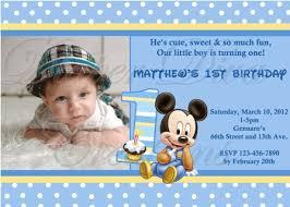 baby mickey mouse invitations birthday diy baby mickey mouse birthday invitation