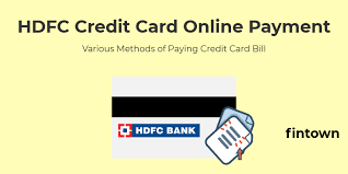 Hdfc credit card 24*7 toll free number 1800 266 4332. Hdfc Credit Card Online Payment How To Make Credit Card Payments