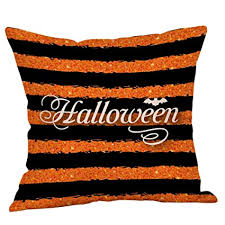 Buy DZT1968 <b>Halloween</b> Pillow Cases Linen Sofa Cushion Cover ...