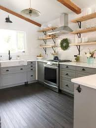 Awesome Rustic Farmhouse Kitchen On 80 Cabinets Decor Ideas Of Your