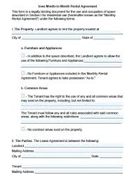 Lease Agreement Word Document
