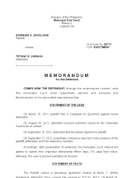 Trial Memorandum Sample | Pleading | Complaint