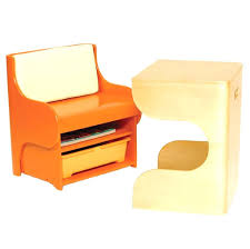 kid desk and chair set great modern kids featuring orange with back padding lower storage preschool